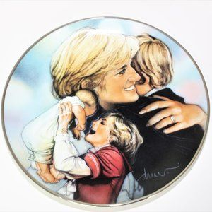 Mother Above All by Drew Art Plate Princess Diana